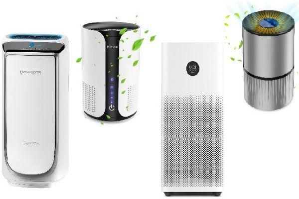 Los purificadores de aire más vendidos