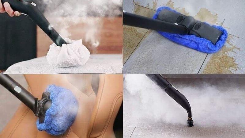 Dupray NEAT usos de la vaporeta