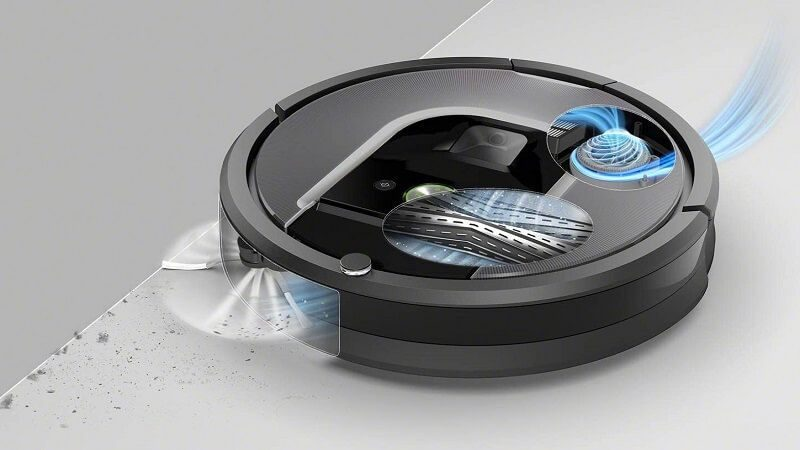Roomba 960 aspiración